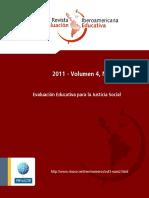 Murillo J y Otros, Evaluación Educativa Para La Justicia Social