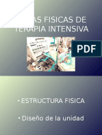 areas fisicas de terapia intensiva