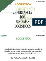 Importância dos Sistemas logísticos