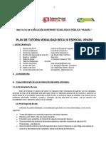 Plan de Tutoría 2014