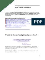 Unit 4_Multiple Intelligences