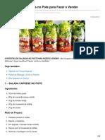 Tudonopotinho.com.Br-5 Receitas de Saladas No Pote Para Fazer e Vender