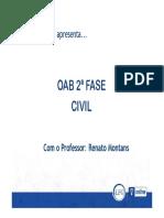 1-Material de Apoio - Direito Civil - Renato Montans - Petição Inicial I