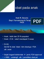 2013-10-18 Farmako Drug Therapy in Pediatric Pts
