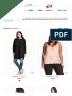Partes de Arriba - Tallas Grandes de Mujer Online _ H&M ES