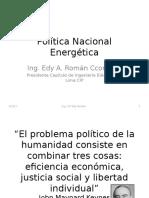 Política Nacional Energética