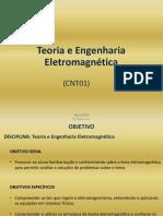 CNT01 - Teoria Da Engenharia Eletromagnetica 20160806