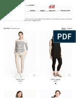 Pantalones de Premamá - Compra Lo Último Online _ H&M ES