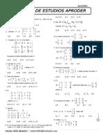 Ejercicos de Matrices