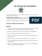 Estatutod Del Boletin Del Consumidor