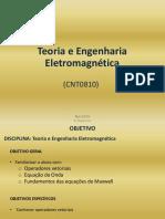 CNT08 - Teoria e Engenharia Eletromagnetica 201611104
