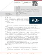 LEY-20215 14-SEP-2007 Mod Trabajadores Comercio Dias Festivos