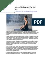 Prática de Yoga e Meditação