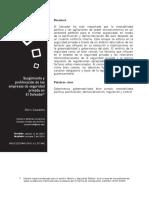 Surgimiento Y Proliferacion De Las Empresas De Seguridad Privada