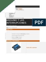 Interrupciones Arduino