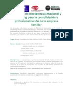 Programa de Inteligencia Emocional y Coaching Para e.familiar