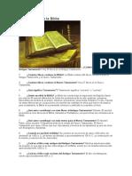 Datos Sobre La Biblia