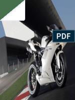 10182 White Ducati Sport Bike HD Wallpaper