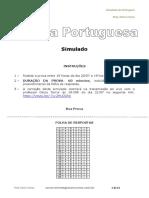 Simulado de Língua Portuguesa - Décio Terror
