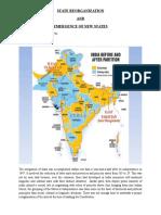 Geo State Reorganisation