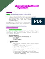 Resumen Proyecto Práctica Aplicada