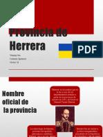 Provincia de Herrera