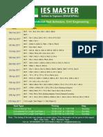 Conventional ES Schedule 2017 CE