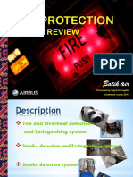 A320 Fire Protection System Review