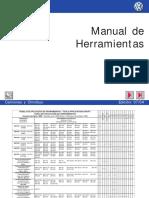 Manual de herramientas vw