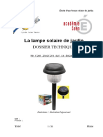TP 6 La Borne Solaire Dossier Technique1