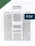 Ferreira Gullar - Ler e Falar