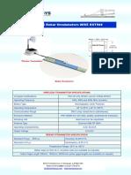 Wireless Rebar Strainmeter