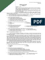 Contoh Soal Ujian Patologi Docx