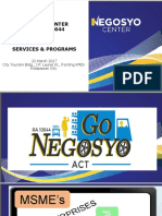 Nego Center Profile REVISED.ppt