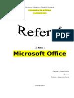 88885746 Referat Microsoft Office