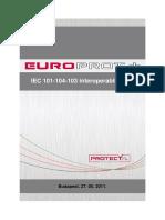 Iec 101 104 103 Interoperability