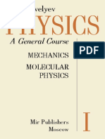 I v Savelyev Physics General Course Vol 1