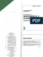 Fundamentos da Matemática Elementar 5 - (Exercícios Resolvidos).pdf.pdf
