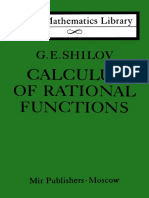 Shilov Calculus of Rational Functions
