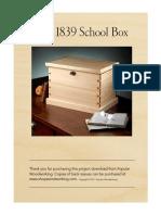 1839 School Box
