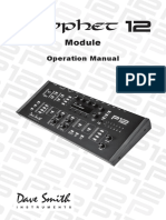 Prophet 12 Module Operation Manual v.1.0