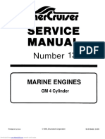 MerCruiser GM4 Manual de Servicio