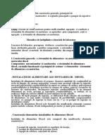 Sistemul de Alimentare a Motorului cu Motorina .doc
