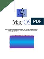 Makalah MAC OS
