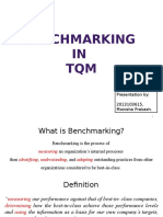 Benchmarking - TQM