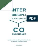 Interdisciplinariedad y Coenseanza