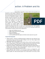 Soil Compaction and Its Remedies
