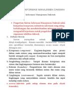Sistem Informasi Manajemen Dakwah