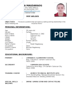Madel Mosuela Magdaraog Resume