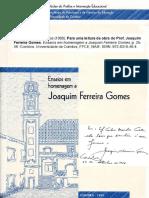 Para Uma Leitura Da Obra Do Prof. JFG 1998